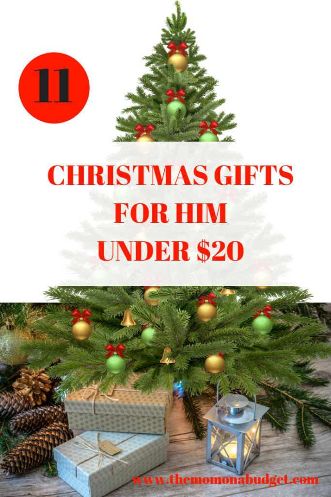 11 CHRISTMAS GIFTS FOR HIM UNDER $20
