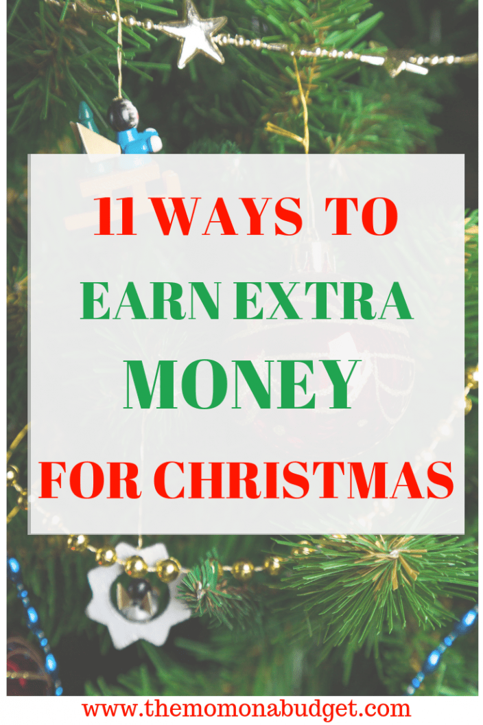 11 Ways to earn extra money for Christmas