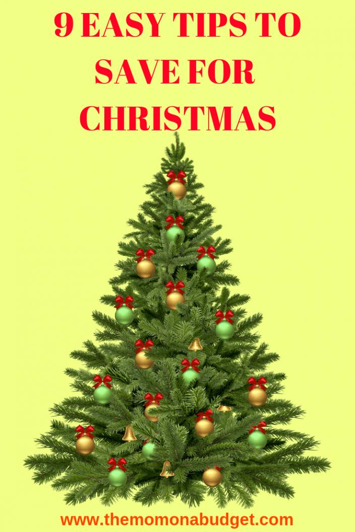 9 EASY TIPS TO SAVE FOR CHRISTMAS