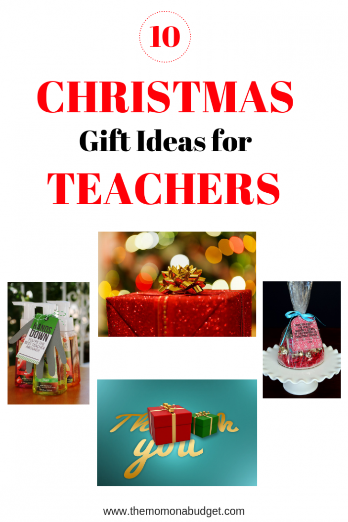 10 Christmas gift ideas for teachers