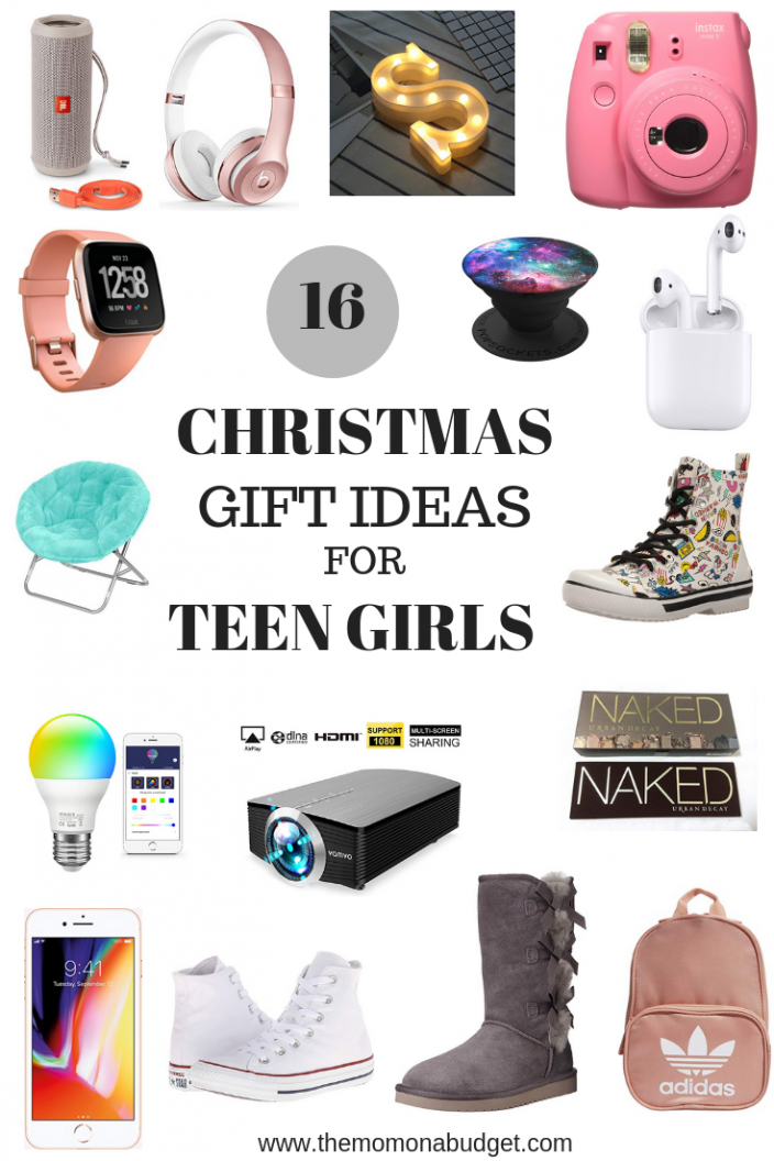 16 Christmas Gift Ideas For The Teen Girls In Your Life