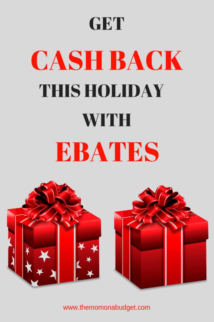 get cash back with ebates