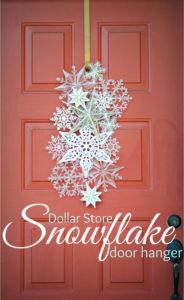 Snowflake door hangar