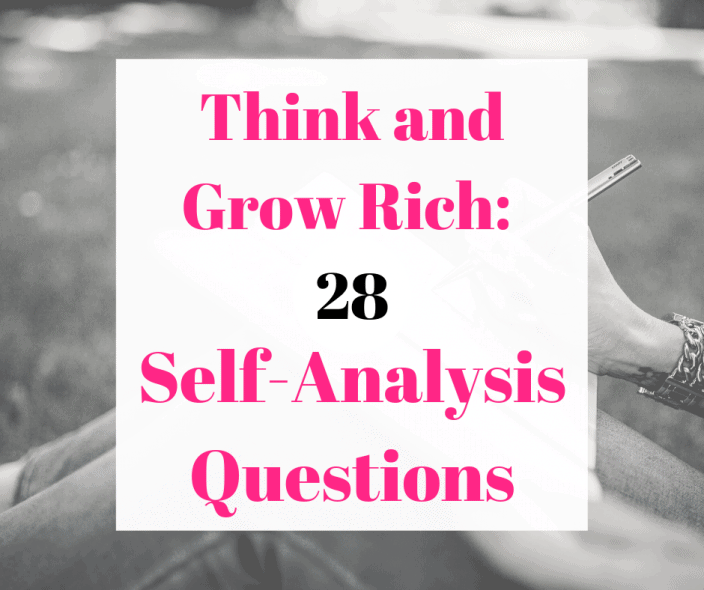 28 Self-analysis questions