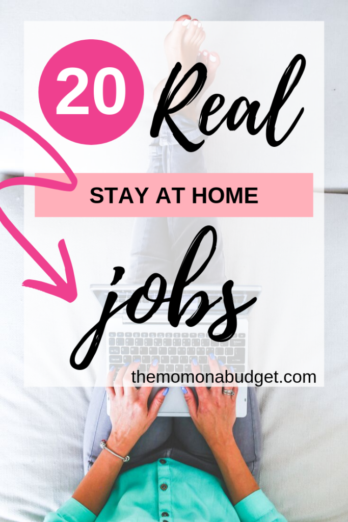 20 Real Work at Home Mom Jobs