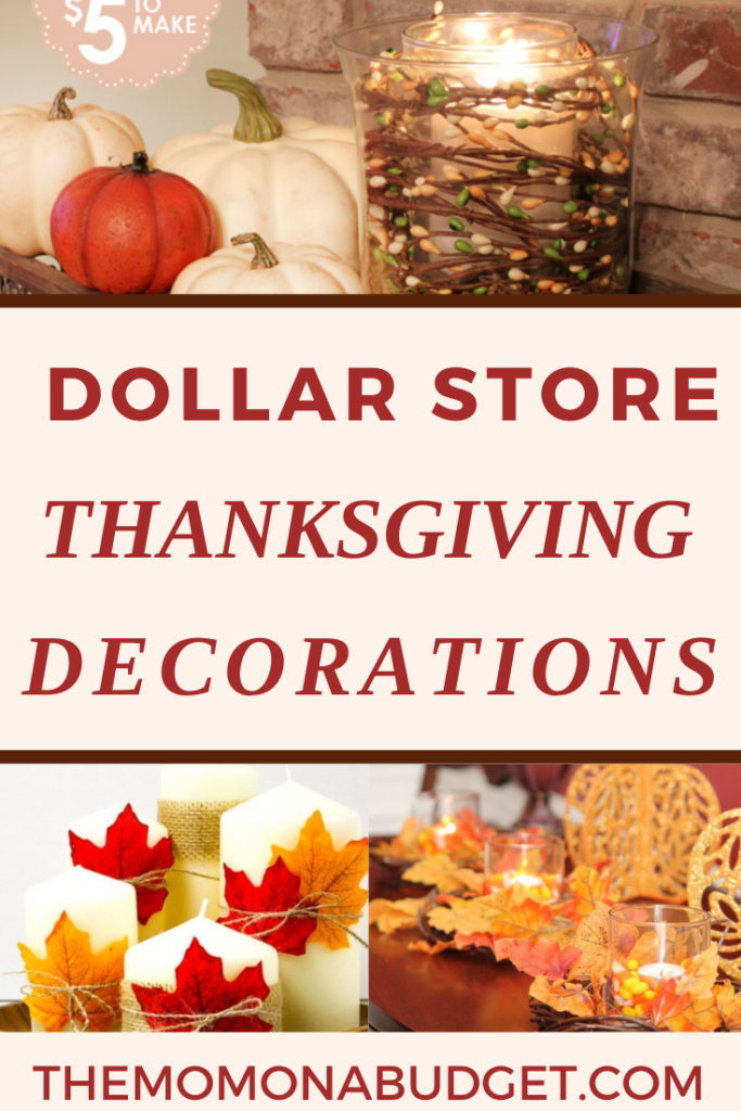 30 Dollar Store Thanksgiving Decoration Ideas on a Budget
