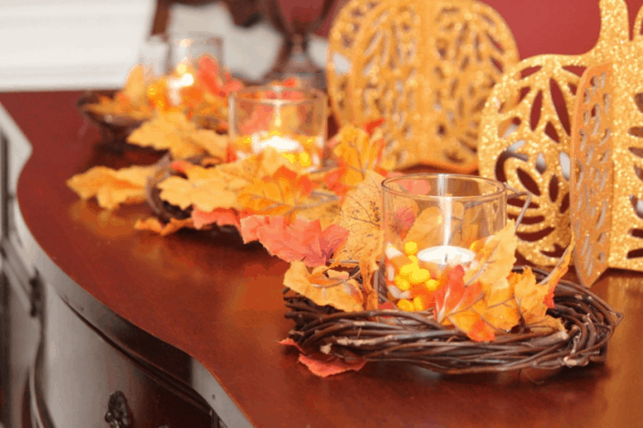 Thanksgiving Dollar Tree DIY Decorations