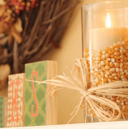 Dollar Tree Thanksgiving DIY Decorations