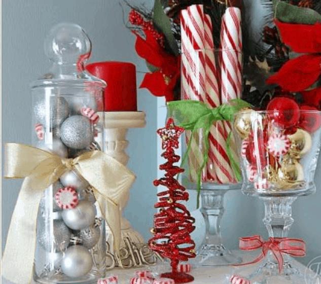 40 Festive DIY Dollar Store Christmas Decor Ideas
