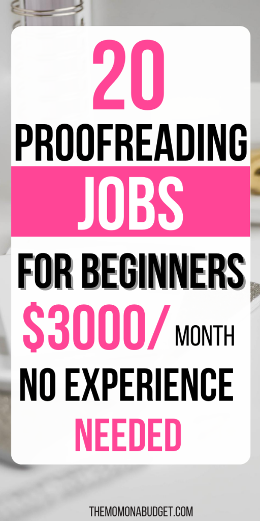 Proofreading Jobs for Beginners