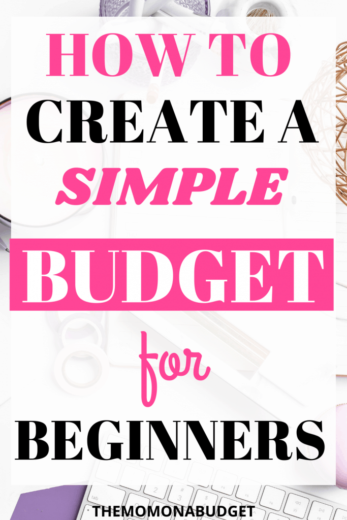 How to start budgeting for beginners